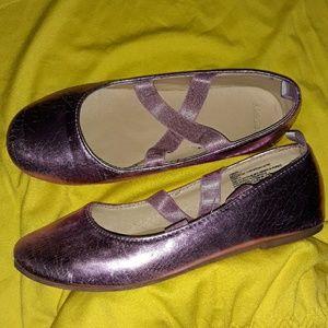 Gymboree Ballet Slipper Shoes Size 2 Little girl